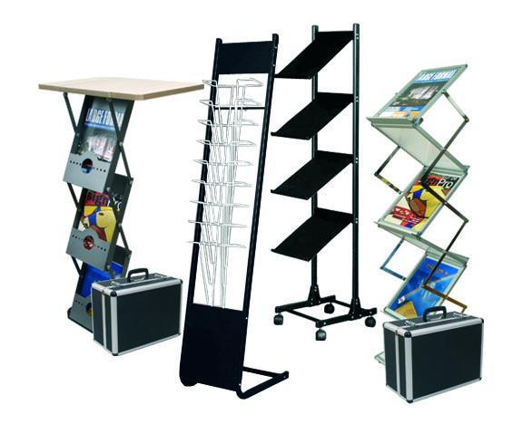 Broschyrställ, broschyrhållare, katalogställ